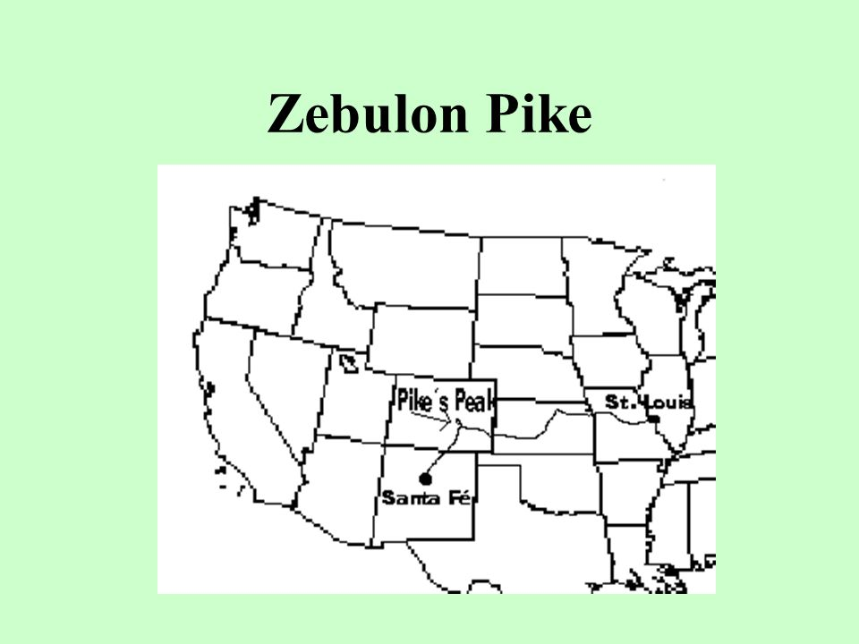 Zebulon Pike The government sent another explorer, __________, to find the source of the Red River.