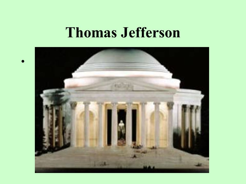 Thomas Jefferson __________'s election represented the first time that one political party replaced another in power in the U.S., and was the first president to be inaugurated in Washington D.C.