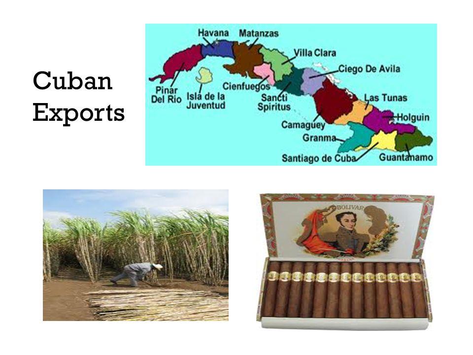 Cuban Exports