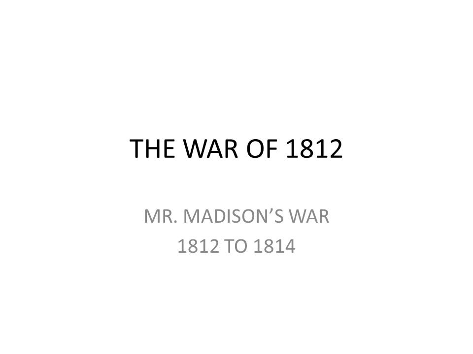 Election of 1808 impacted by the Embargo Act issue Republican, James Madison, defeated Charles Pinckney Federalists made significant gains in Congress (although still in minority) and gained control of several state legislatures.