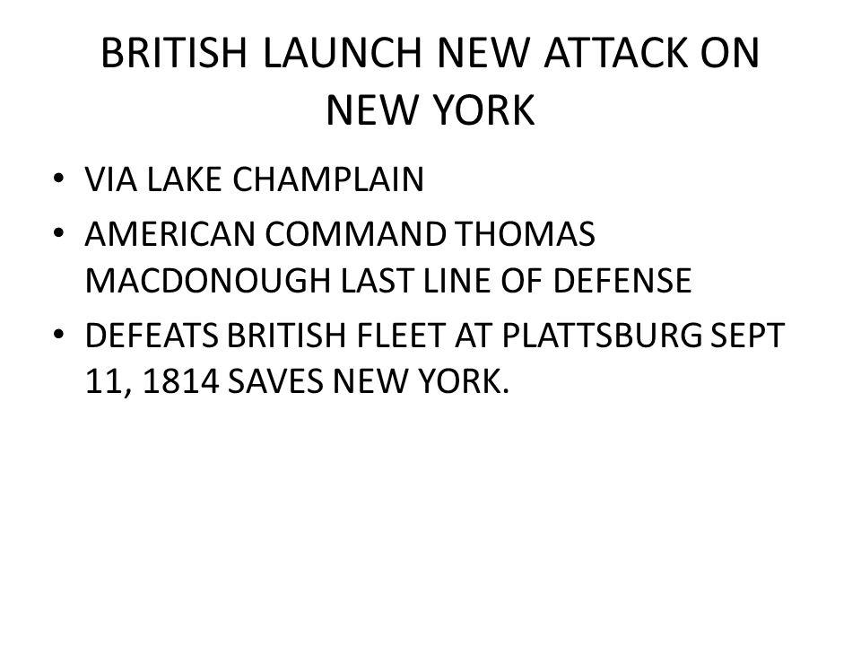 NAPOLEON IS DEFEATED 1814 IMPRISONED ON ELBA BRITISH DIVERT TROOPS TO AMERICA.