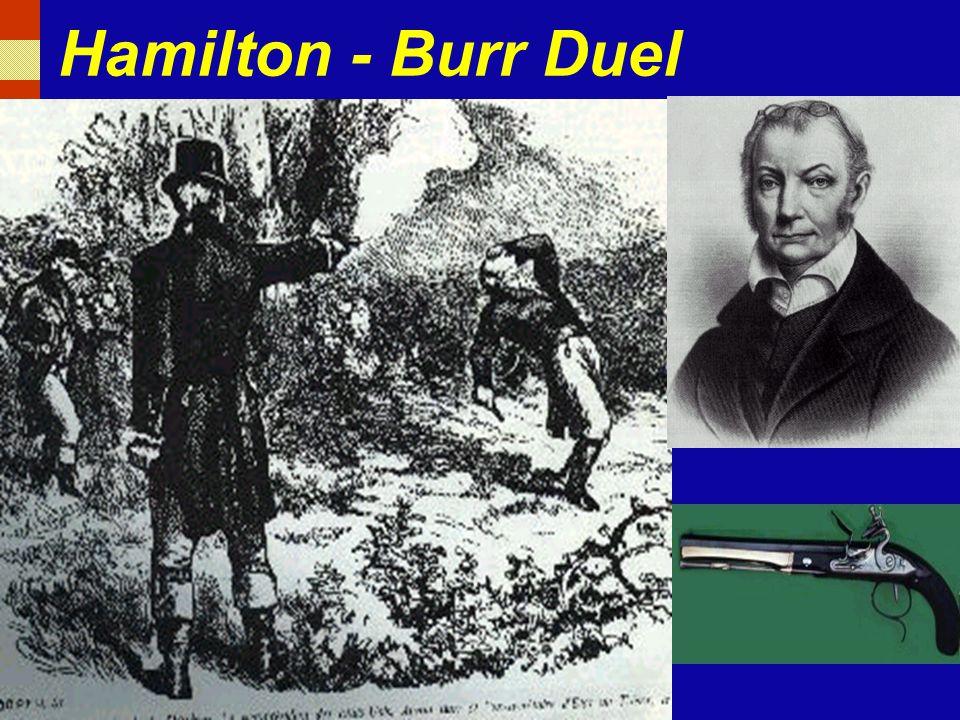 Hamilton - Burr Duel