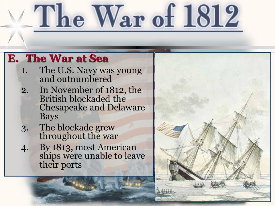 E.The War at Sea 1.The U.S.