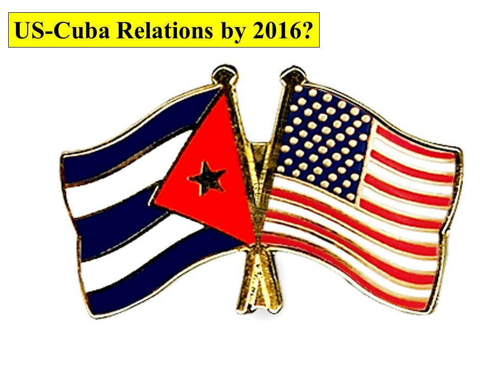 US-Cuba Relations by 2016