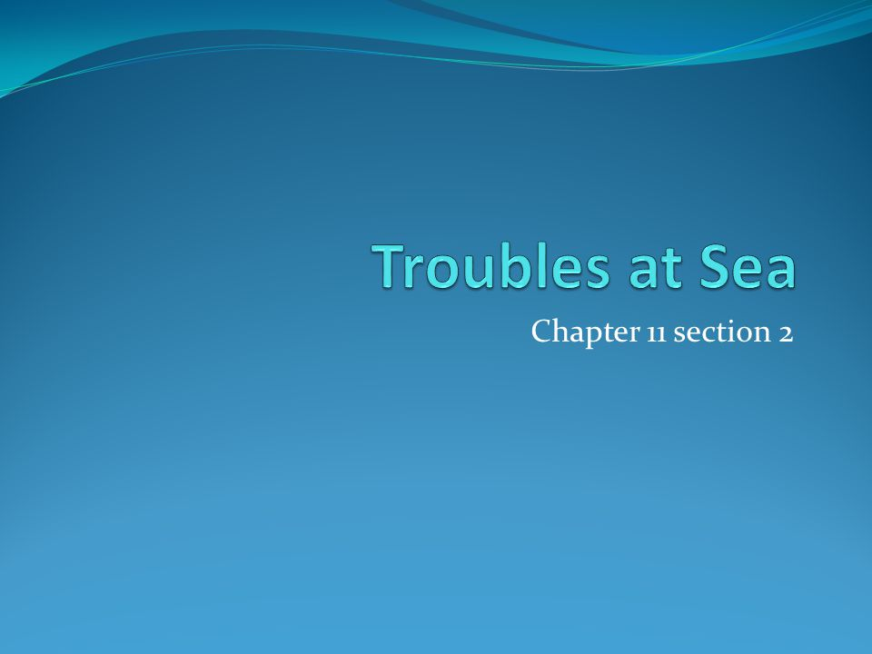 Chapter 11 section 2