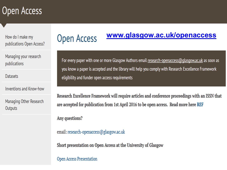 www.glasgow.ac.uk/openaccess