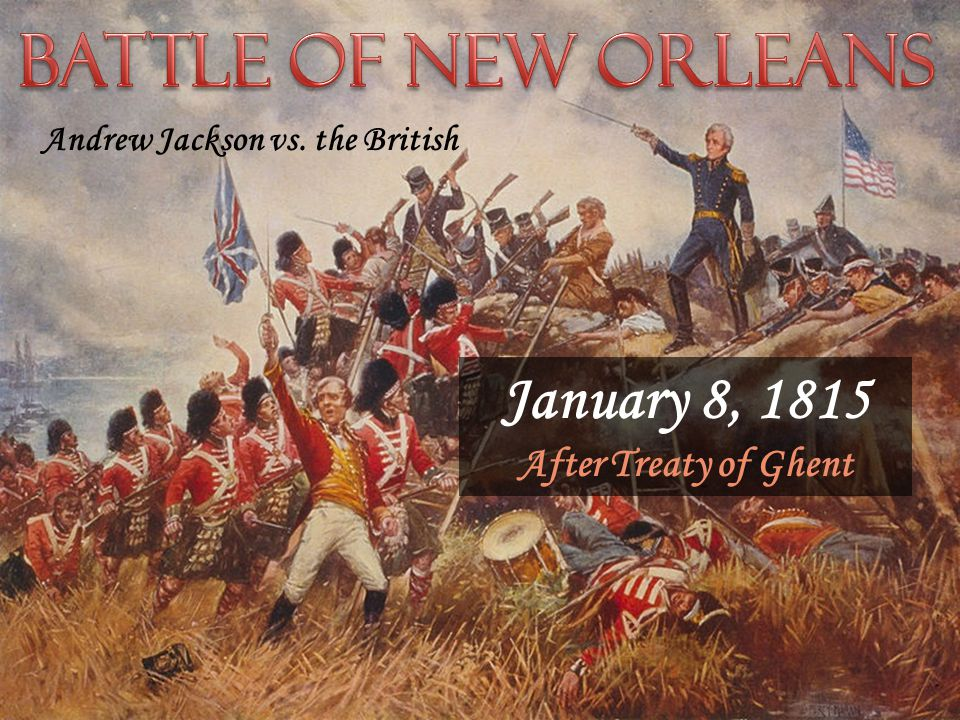 Status quo ante bellum The Treaty of Ghent restored things to the way they were before the war began. December 24, 1814