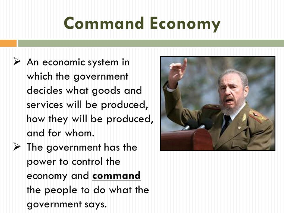 Market Economy  An economic system in which individual choices decide what goods and services will be produced, how they will be produced, and for whom.