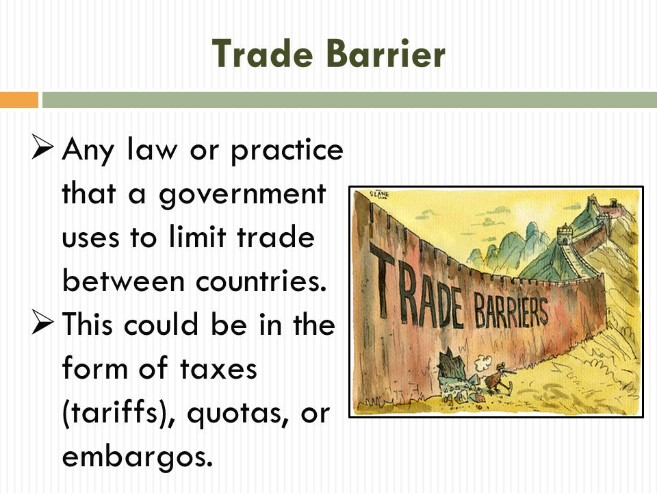 Tariff  A price charged for goods or services brought into one area from another area.