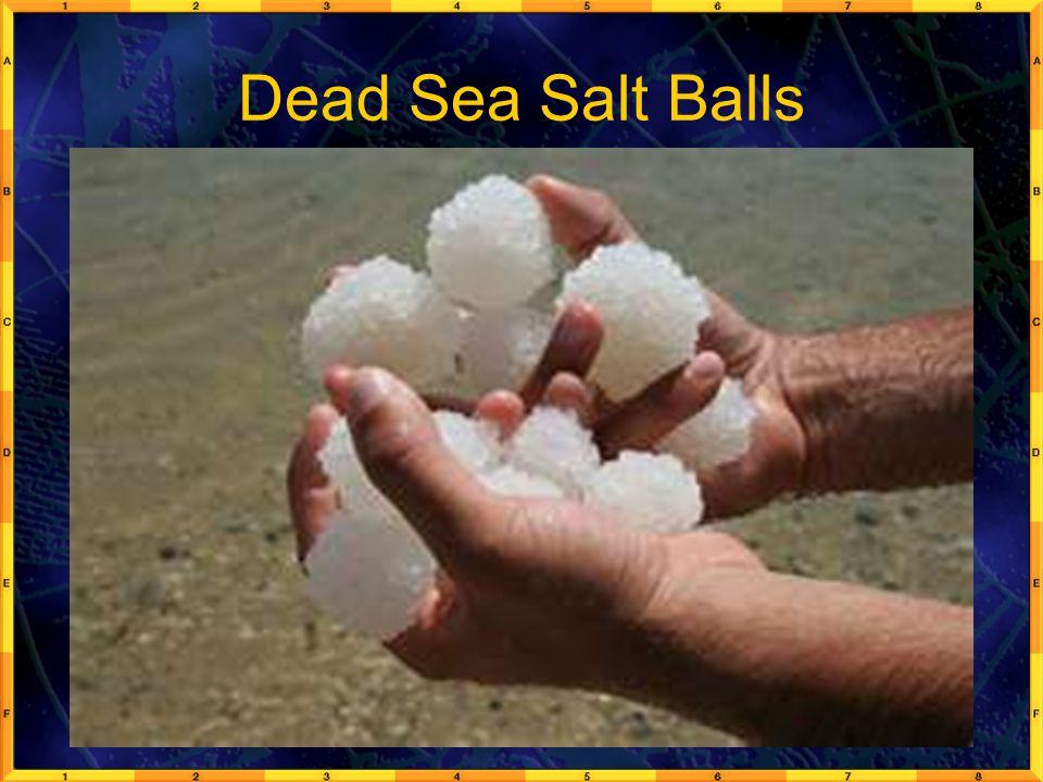 Dead Sea Salt Balls