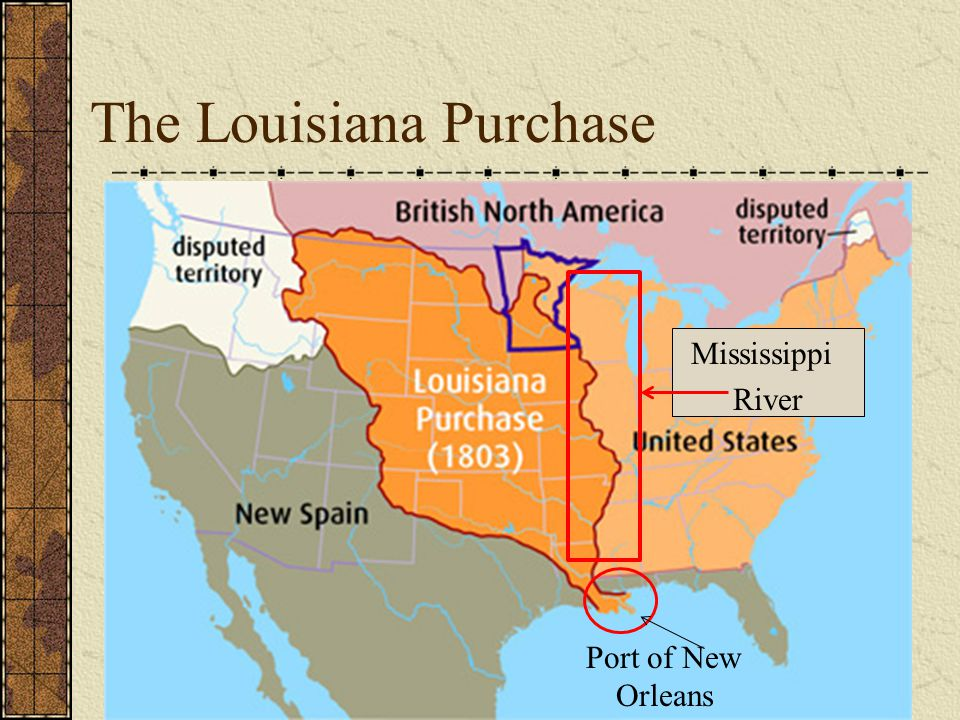 The Louisiana Purchase Port of New Orleans Mississippi River