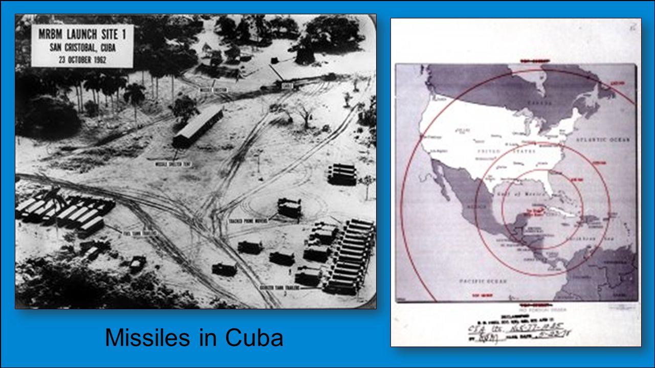 Missiles in Cuba