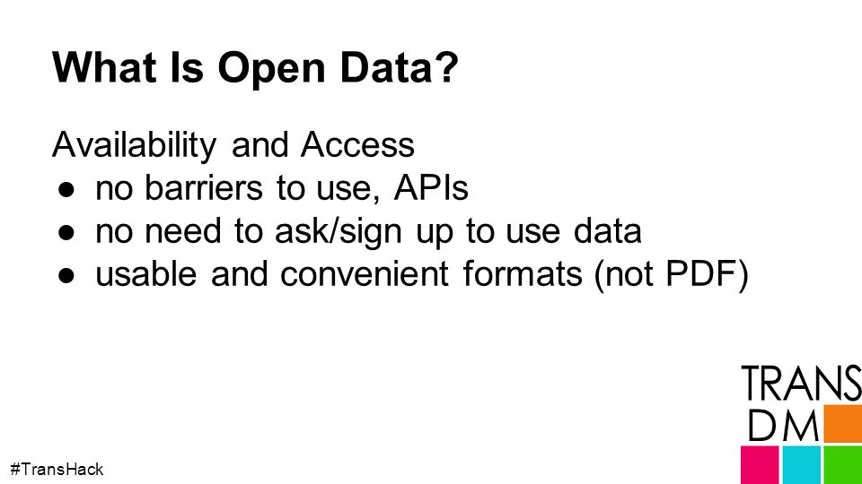 What Is Open Data.