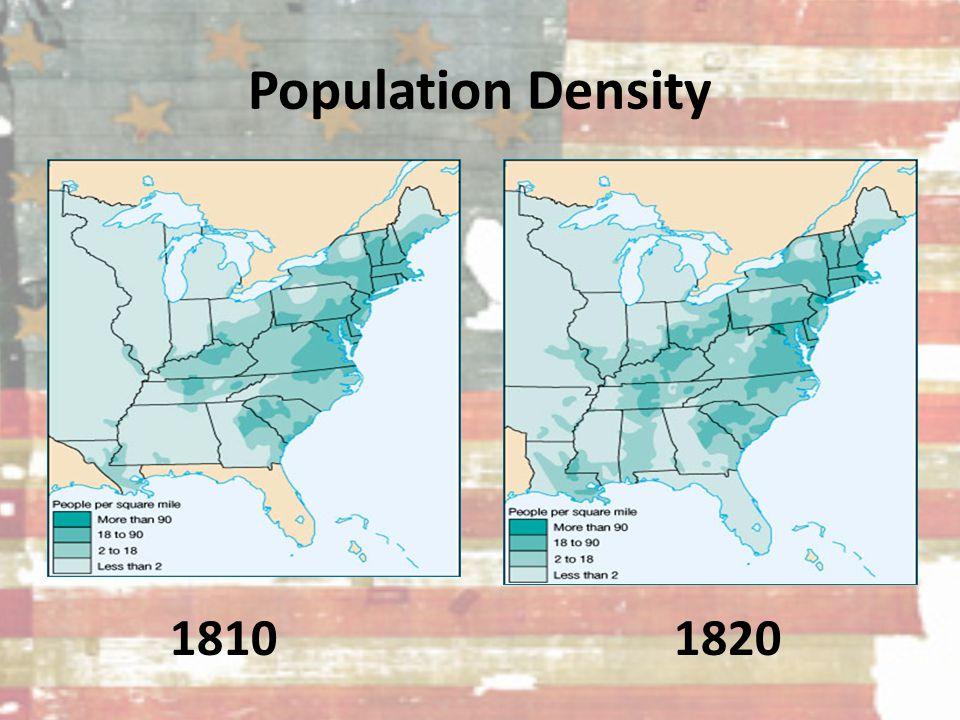 Population Density 18201810