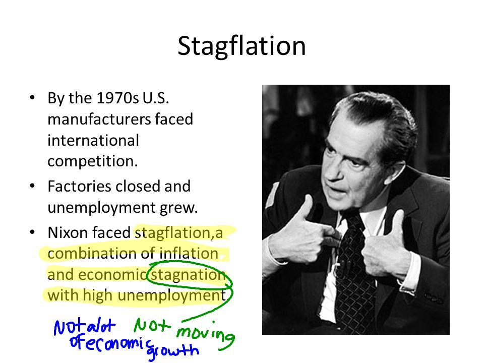 Nixon's Response Nixon tried to control inflation.