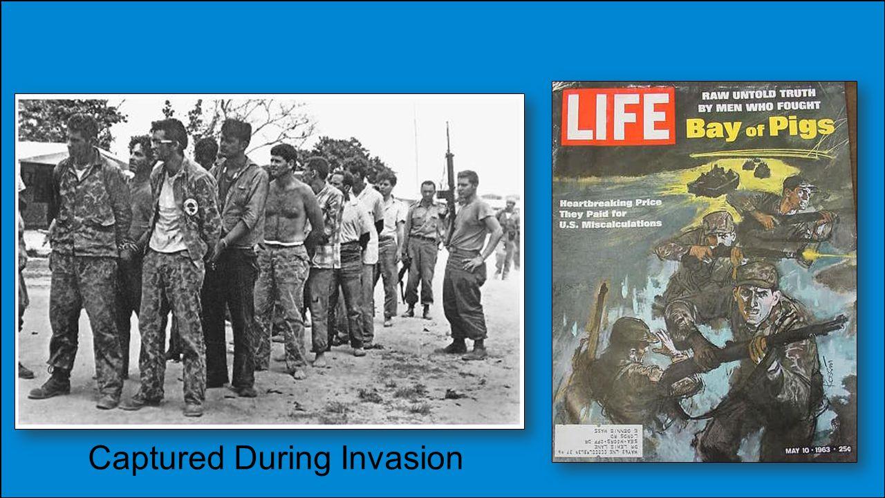 Captured During Invasion