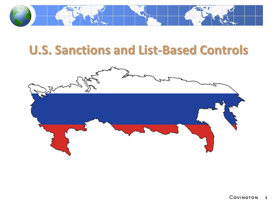 U.S. Sanctions and List-Based Controls 4
