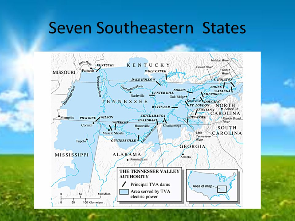 Seven Southeastern States