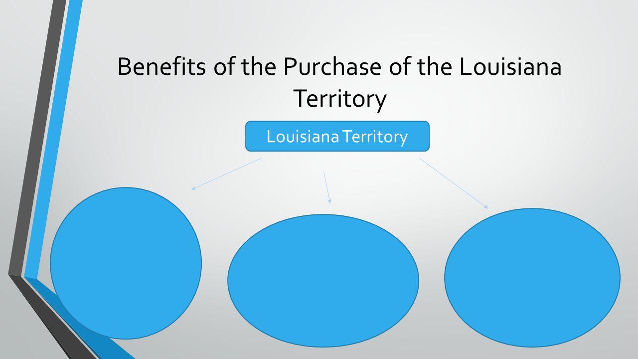 Benefits of the Purchase of the Louisiana Territory Louisiana Territory