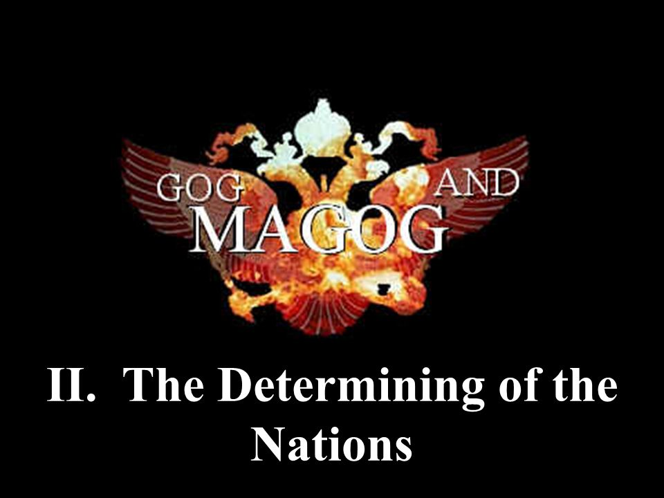 II. The Determining of the Nations