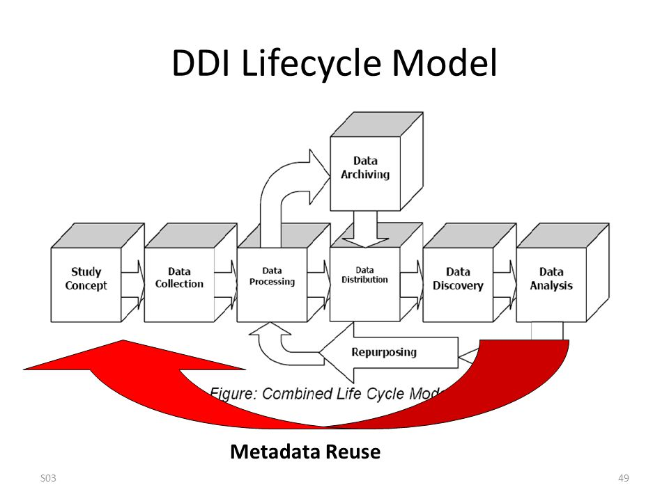 DDI Lifecycle Model Metadata Reuse S0349