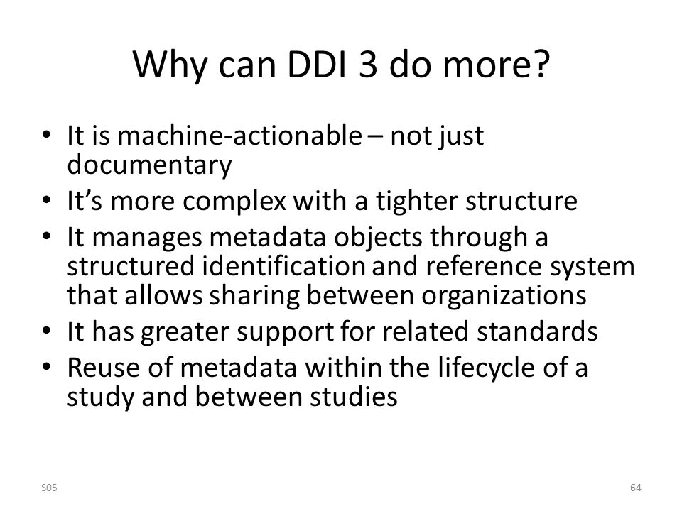 Why can DDI 3 do more.
