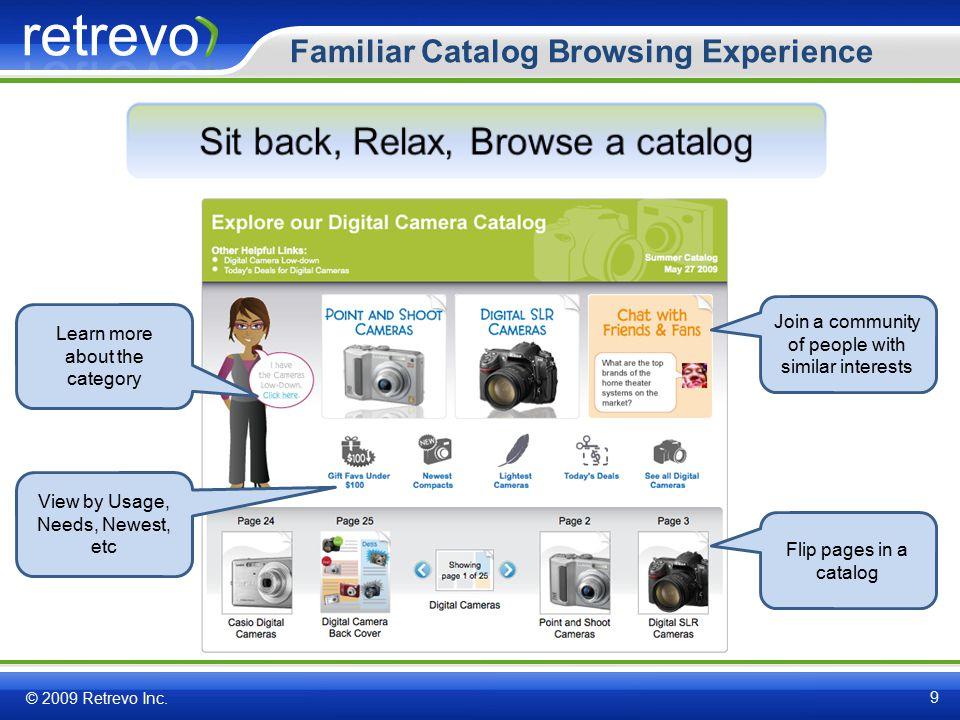 Value Map – Comparison beyond compare © 2009 Retrevo Inc.