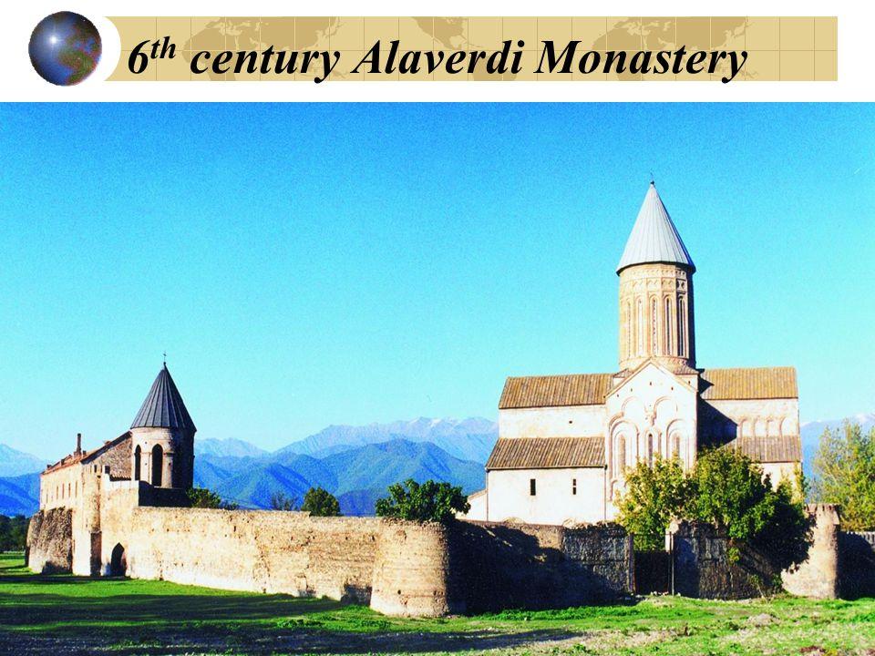 6 th century Alaverdi Monastery