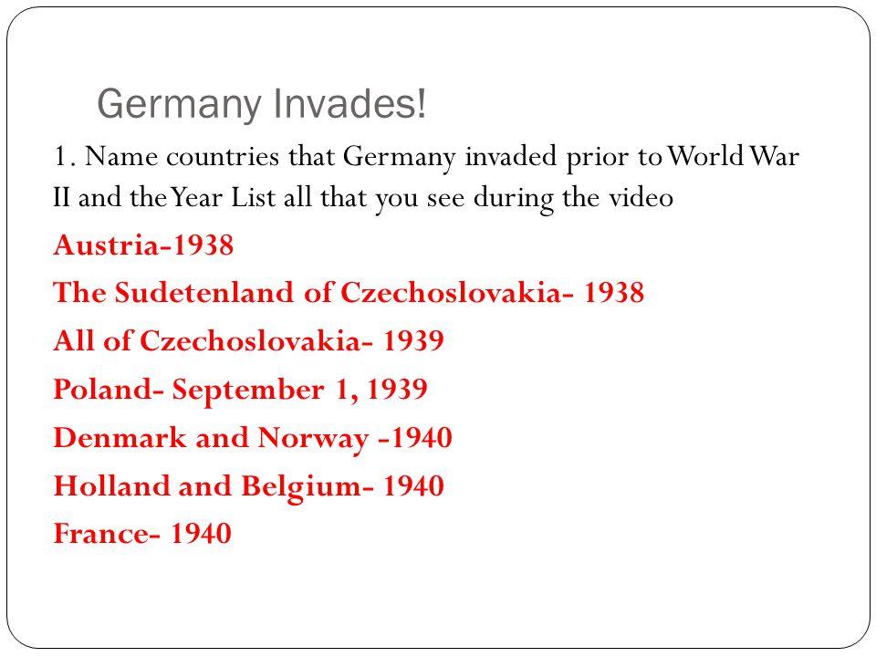 Germany Invades.1.