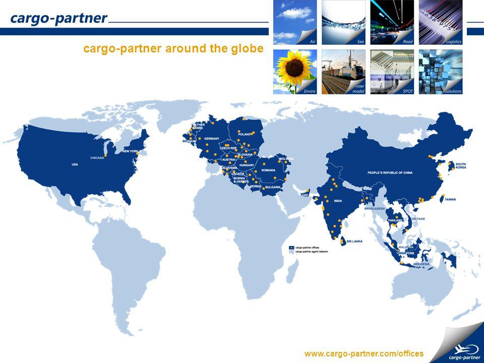 cargo-partner around the globe www.cargo-partner.com/offices
