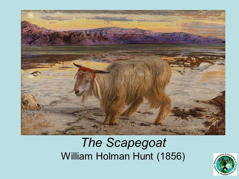 The Scapegoat William Holman Hunt (1856)