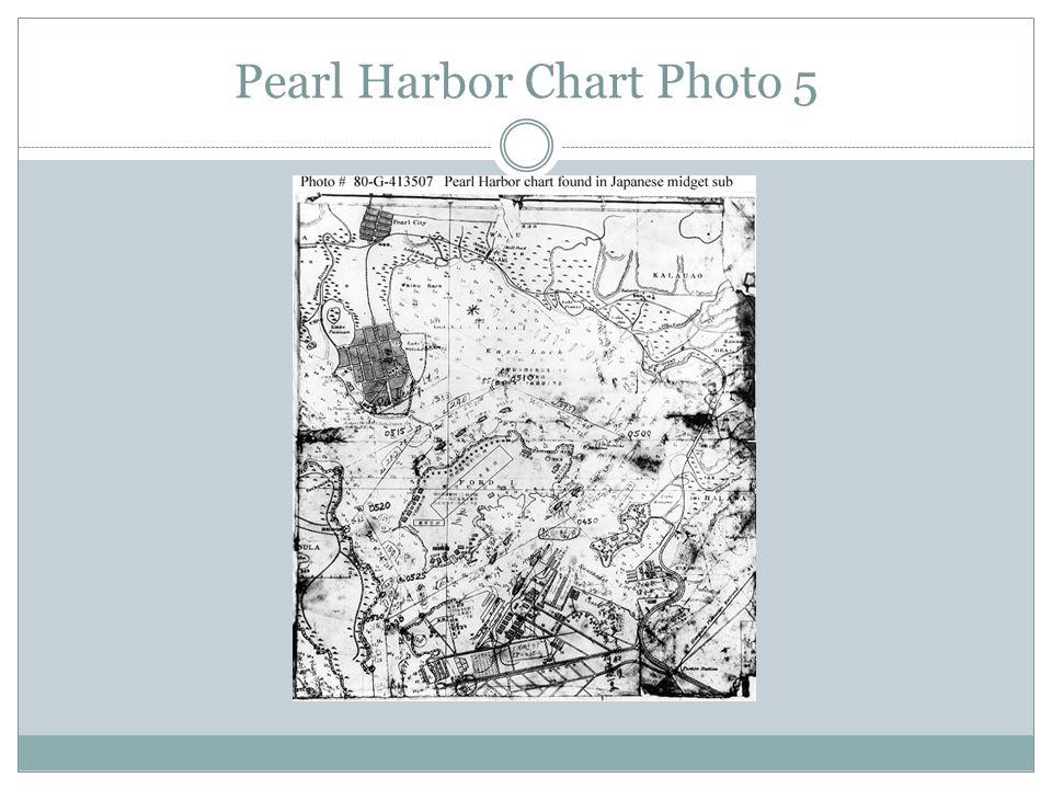 Pearl Harbor Chart Photo 5