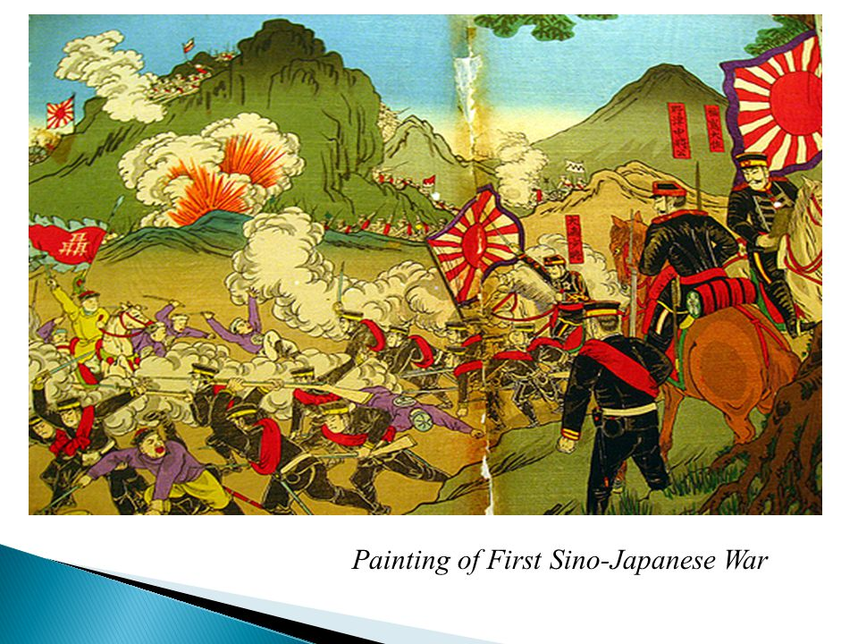  Japanese started with a sneak attack on Port Arthur (no declaration of war)  Japanese use suicide sailors to sink ships in front of harbor at Port Arthur, crews sink vessels, then come ashore and charge Russian forts and die  Tsushima Straits 20 Russian ships sunk, 5 captured, 5 escaped  Japanese lost 3 ships Andreevsky flag ensign of the Russian Navy