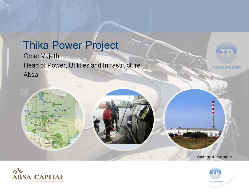 Availability of adequate and reliable power supply is critical for the success of Kenya and achievement of the country's long term goals Introduction Country Overview  Total installed capacity increased from 1,473MW in 2010, to 1,589MW in 2011.