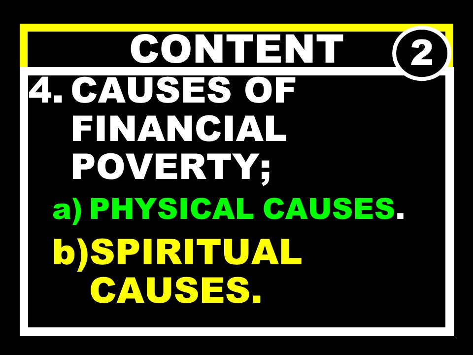 CONTENT 1.WHAT IS POVERTY 2.TYPES OF POVERTY 3.EFFECTS OF POVERTY. 1