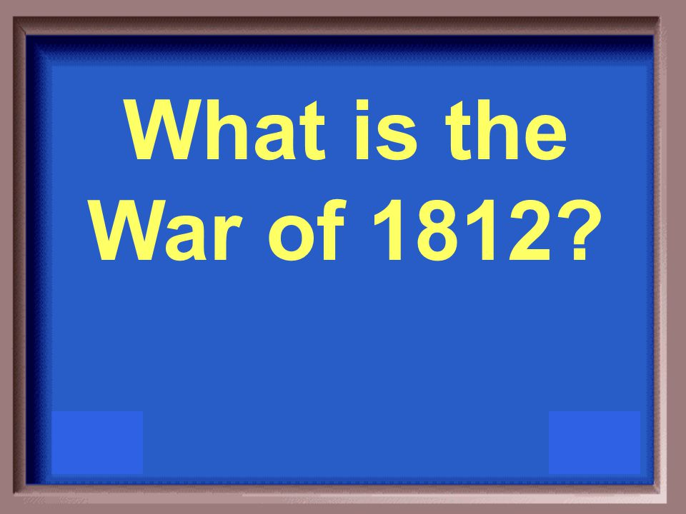 This is sometimes referred to as the U.S.'s second war of independence.