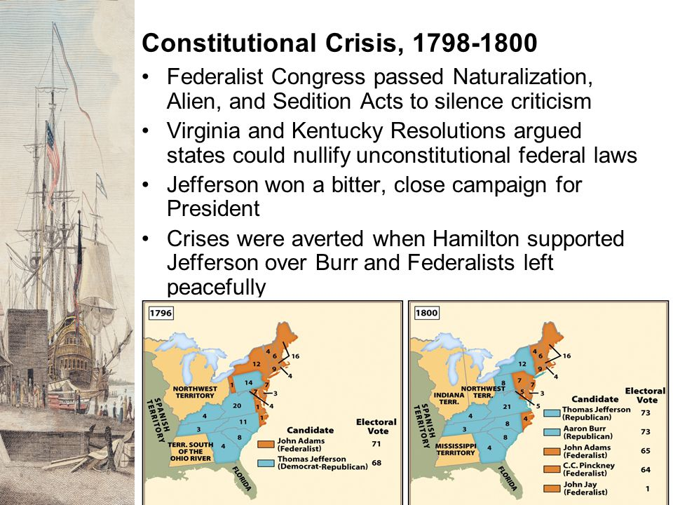 The Expanding Republic and Native American Resistance Threats and bribes led tribes to cede land to US Treaty of Greenville established US domination over Indians in lands east of the Mississippi River Most Indians resisted federal assimilation attempts