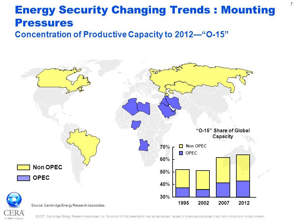 © 2007, Cambridge Energy Research Associates, Inc.
