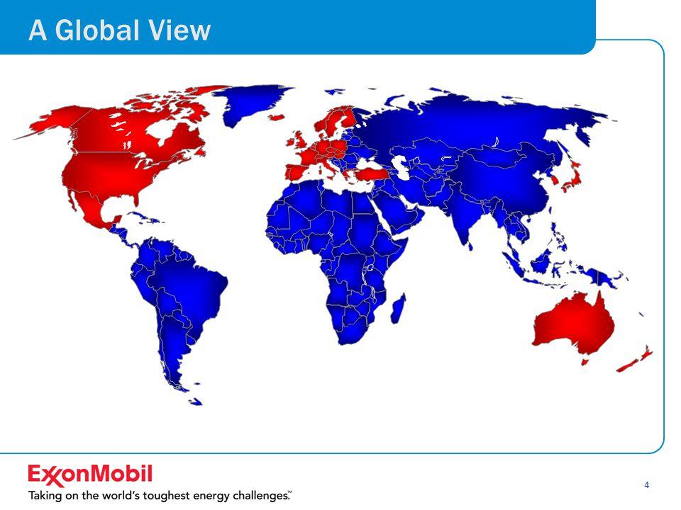 5 Global Economics and Energy 3.0% Average Growth / Yr.