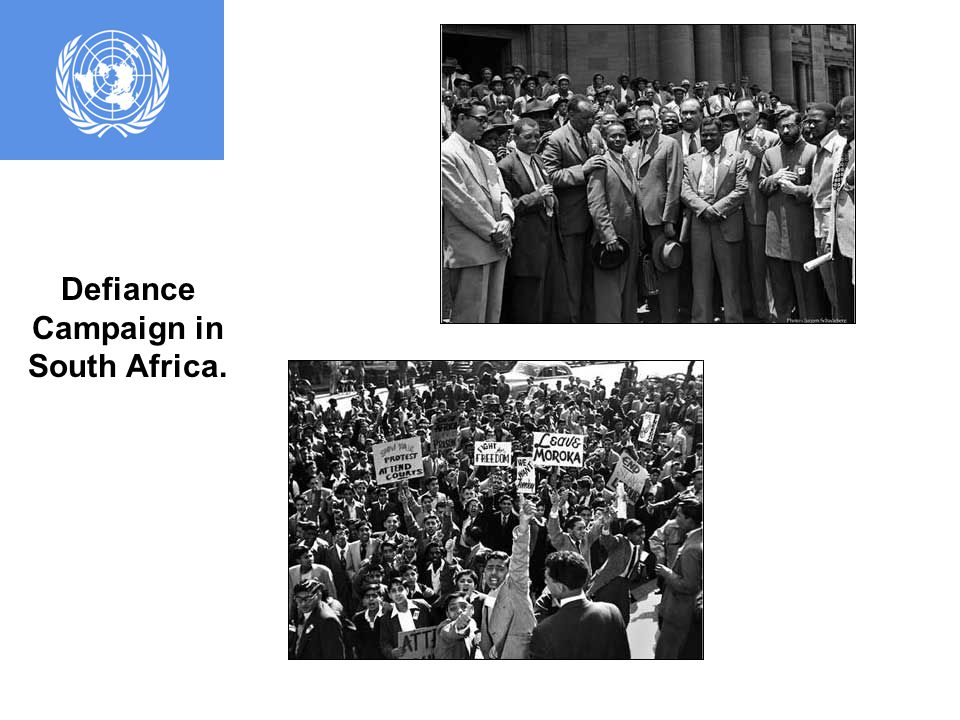 The Universal Declaration of Human Rights was established under the General Assembly.