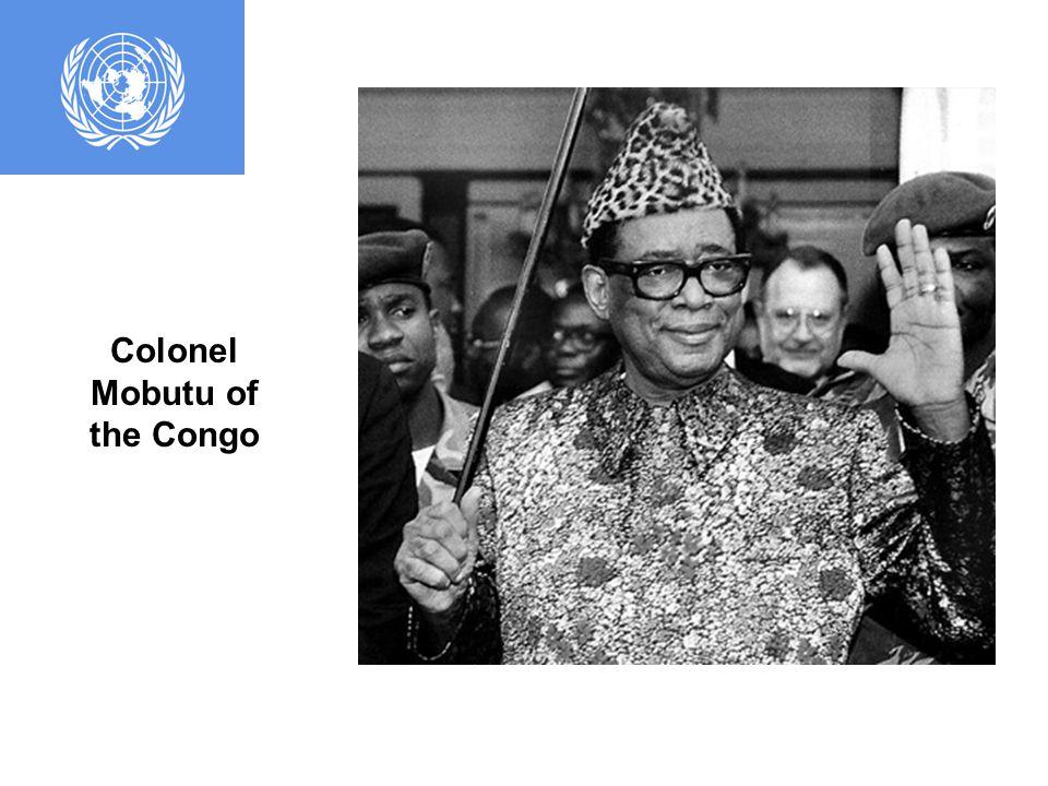 Conga Prime Minister Patrice Lumumba