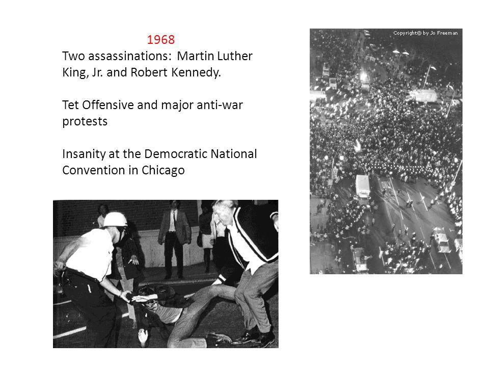 Richard Nixon wins the election and begins a new political era.