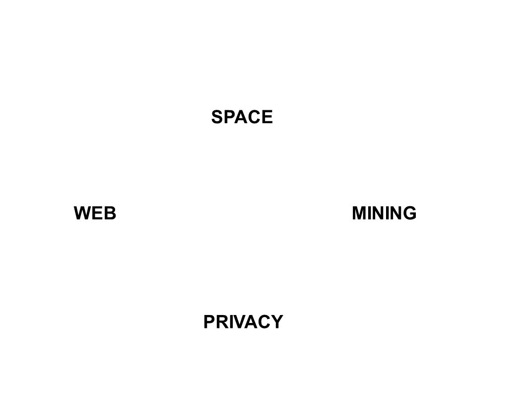 SPACE WEBMINING PRIVACY