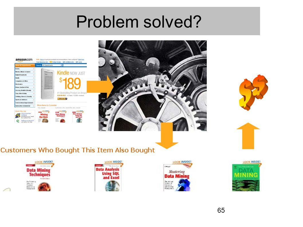65 Problem solved