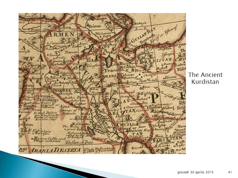 The Kurds giovedì 30 aprile 201540
