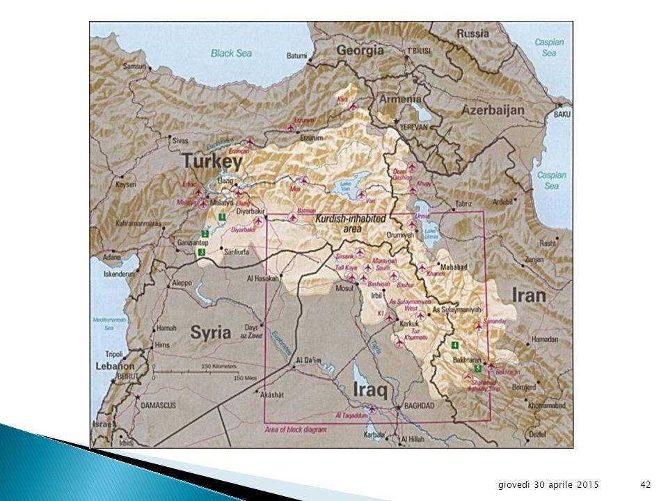 The Ancient Kurdistan giovedì 30 aprile 201541