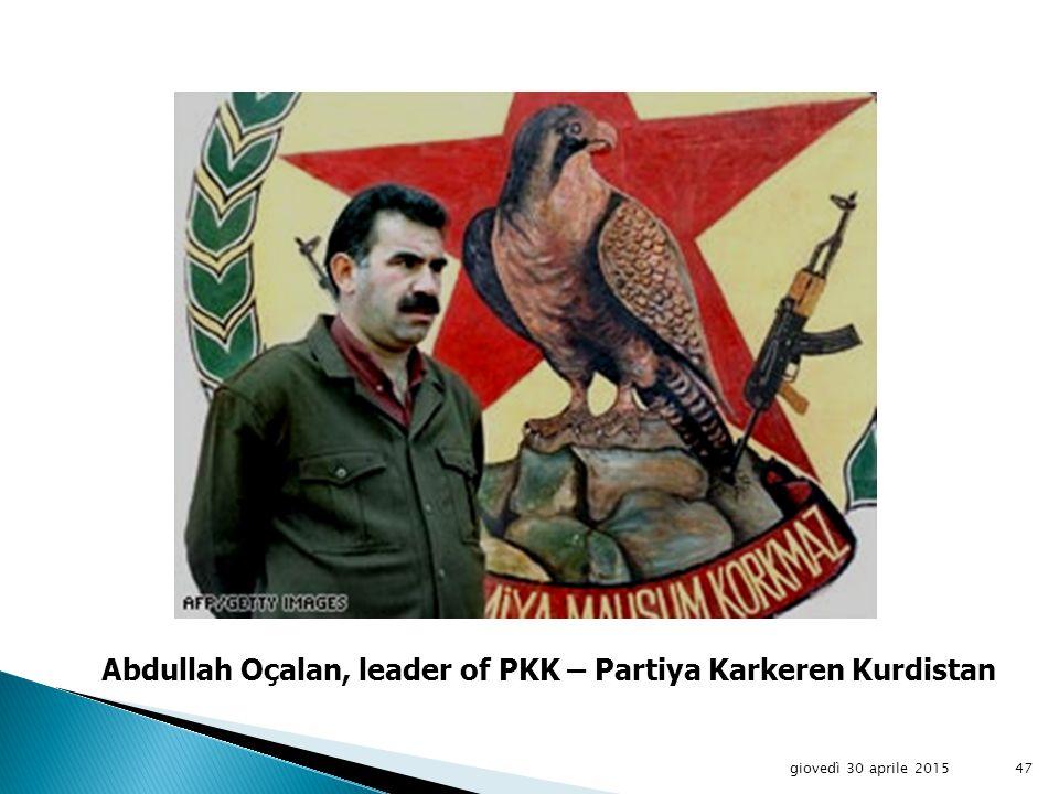 giovedì 30 aprile 201546 Kurds in Syria
