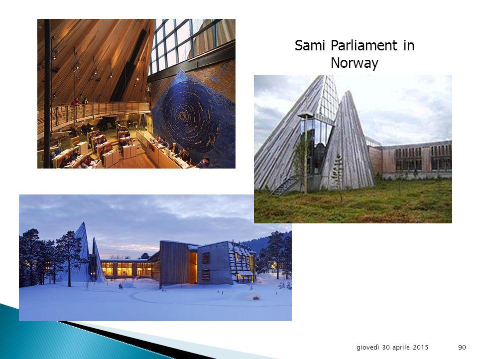 Sami Location giovedì 30 aprile 201589