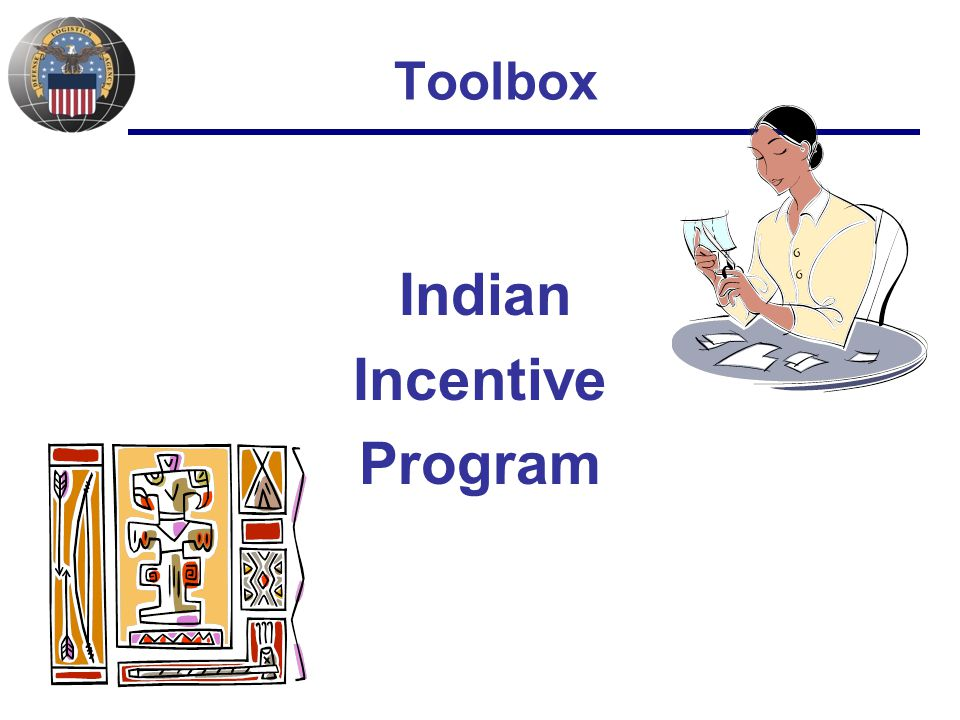 Toolbox Indian Incentive Program