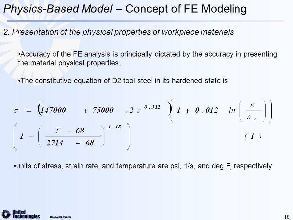 18 Physics-Based Model – Concept of FE Modeling 2.